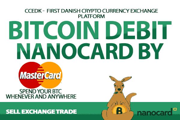 Tarjeta de débito Bitcoin MasterCard