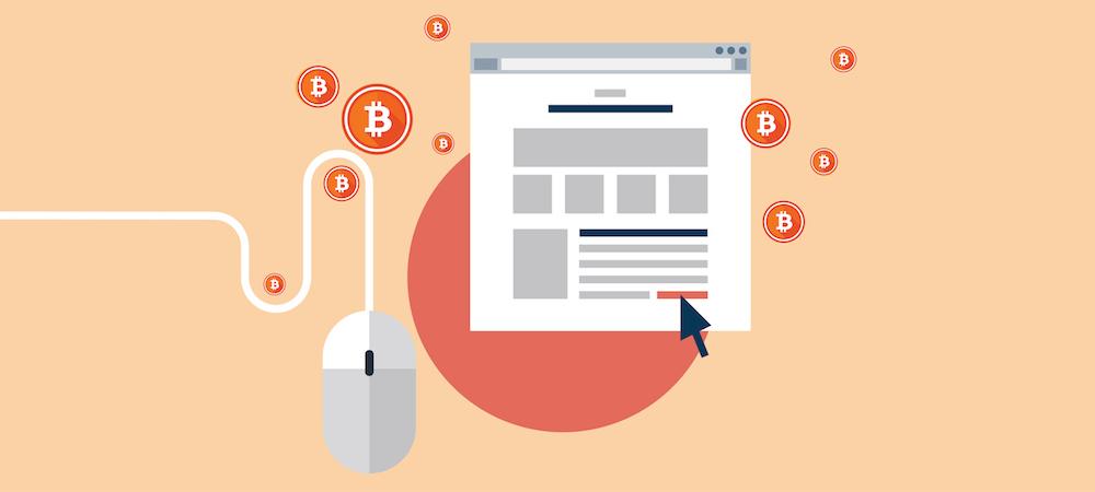 Publicidad con bitcoins