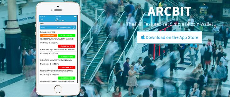 CriptoNoticias ArcBit Cartera Bitcoin iOS Blockchain