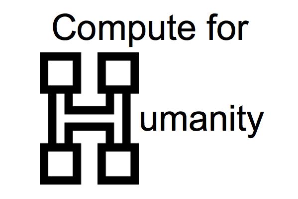 Compute for Humanity minería bitcoin para caridad