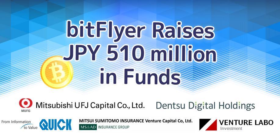 Casa de cambio bitcoin bitFlyer recauda $4M en fondos