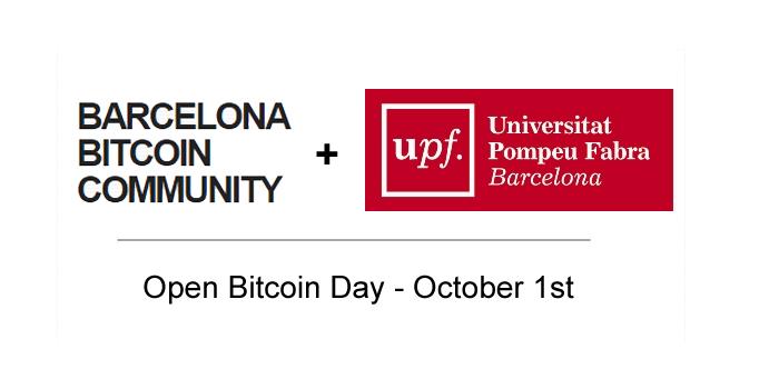 CriptoNoticias-Open Bitcoin Day Universidad Pompeu Fabra Barcelona