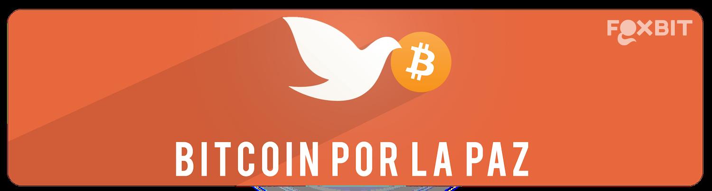 Evento Bitcoin por la Paz de Foxbit
