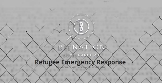 Bitnation y programa de refugiados Blockchain y Bitcoin