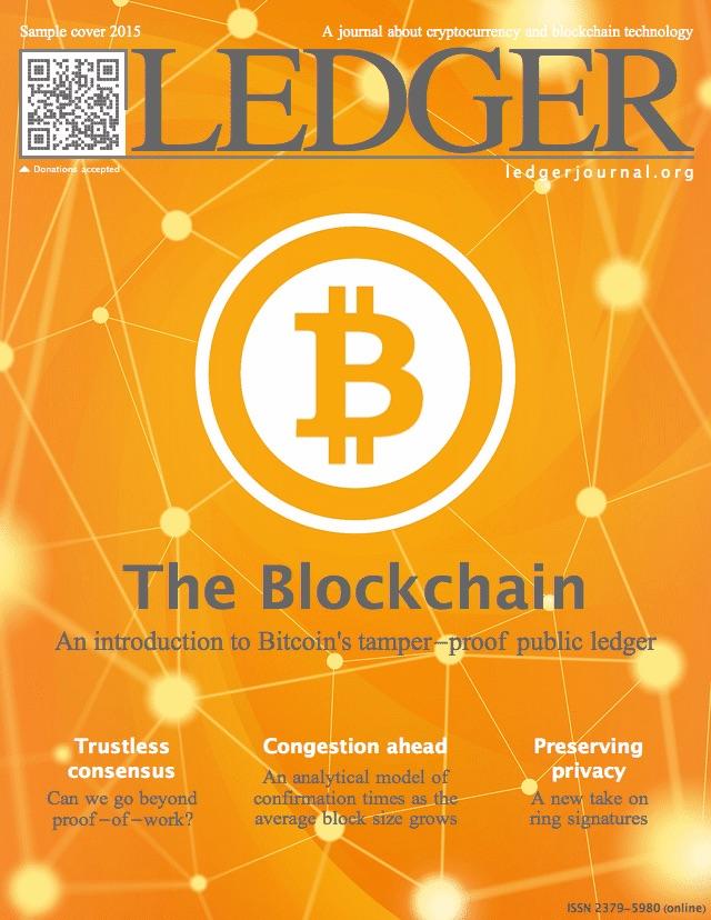 Anunciado diario sobre bitcoin y blockchain, Ledger