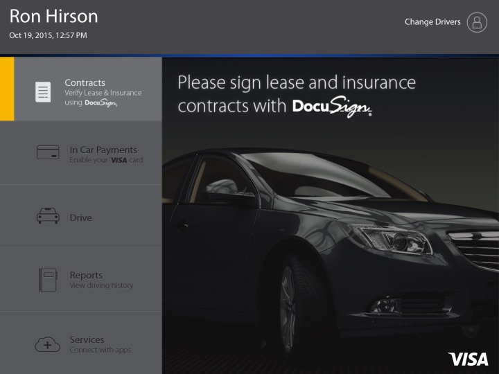 DocuSign Visa Arrendamiento Carros Blockchain