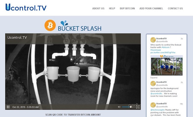 Ucontrol.TV Bitcoin Plataforma