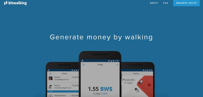 Aplicación Dinero Caminar