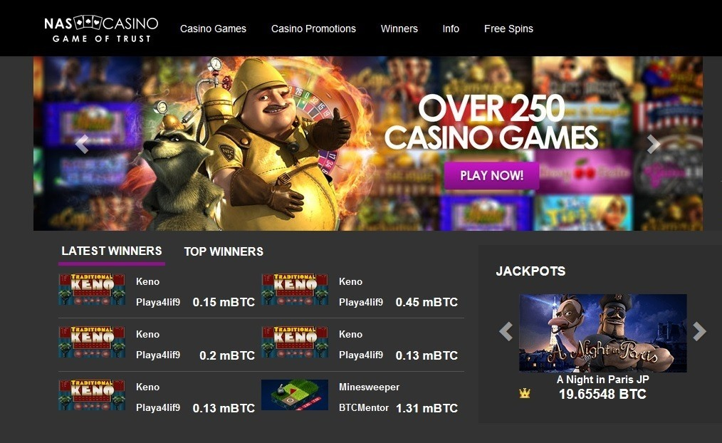 CriptoNoticias NASCasino Casino Bitcoin