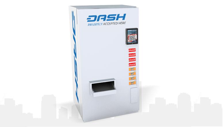 CriptoNoticias Dash N-Drink Máquina Expendedora Gaseosas Criptomonedas Bitcoin