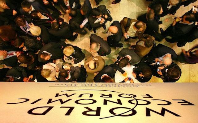 WEF Tecnologías financieras Davos Suiza