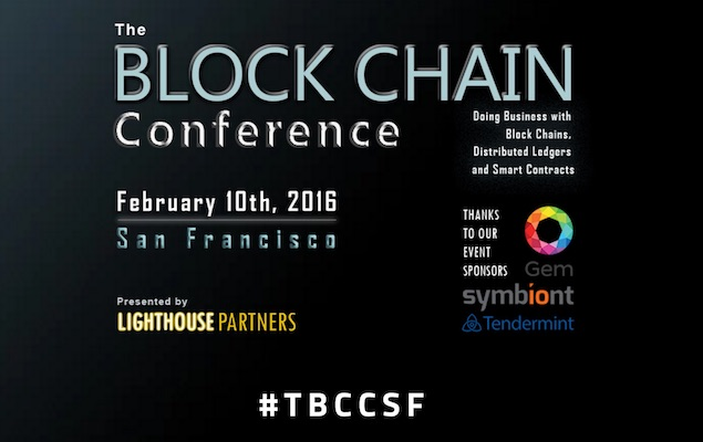 Conferencia Blockchain San Francisco 2016