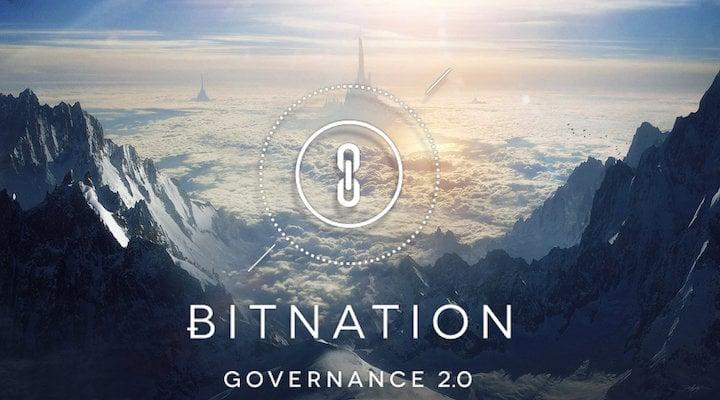 Bitnation Constitución Blockchain