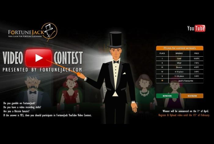 FortuneJack Bitcoin Casino Video