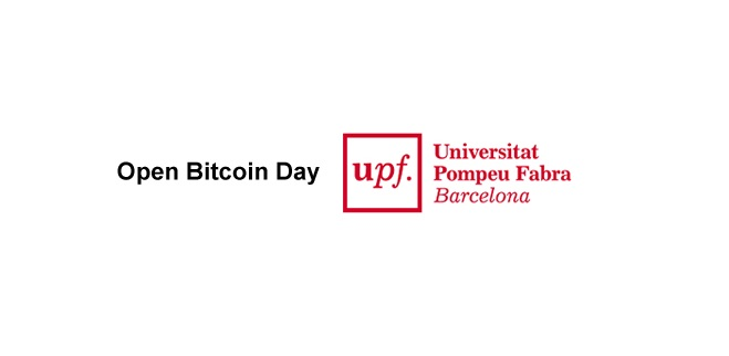 Segundo Open Bitcoin Day Universidad Pompeu Fabra