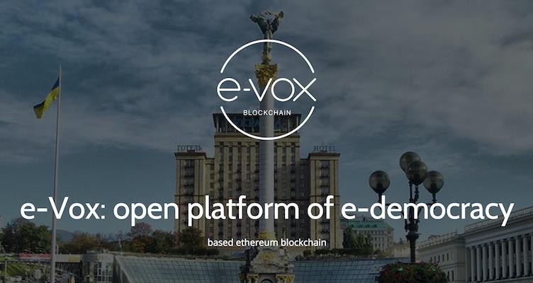 Ucrania Votaciones Elecciones Blockchain