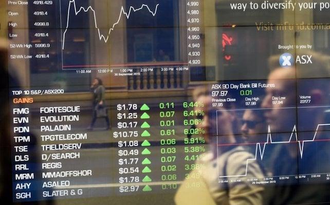 Bolsa de valores Australia Blockchain