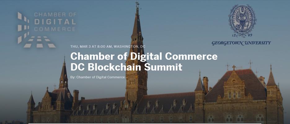 Conferencia Blockchain Washington