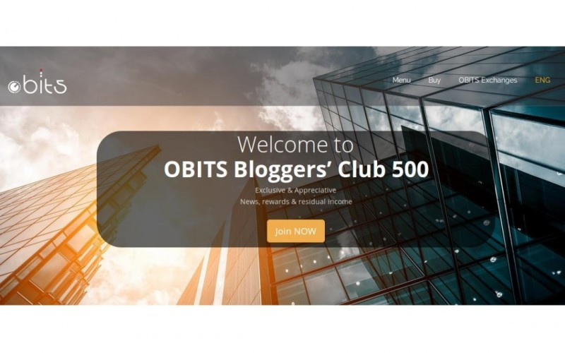 OBITS Bloggers Club 500