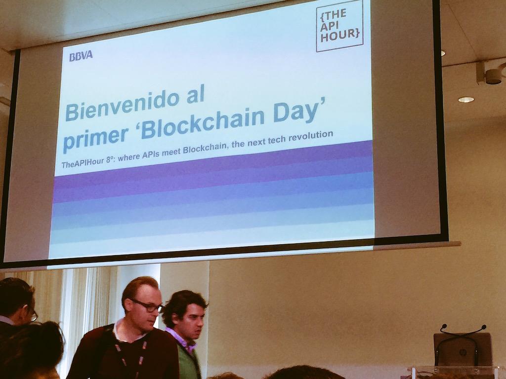 Evento, Tecnología, BBVA, Blockchain
