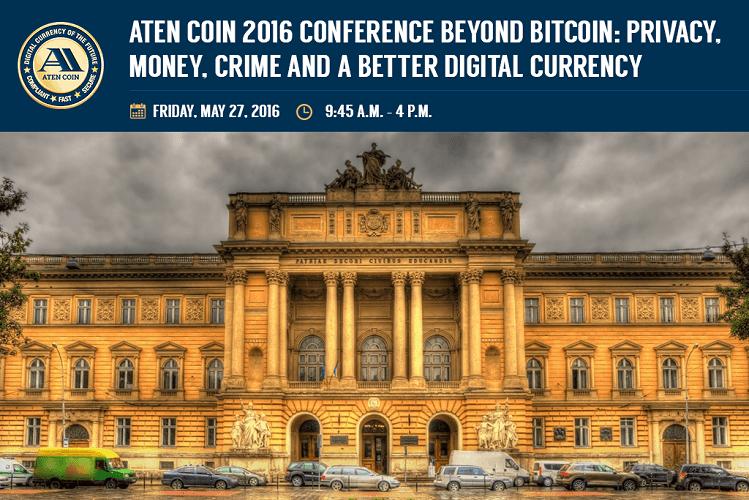 Aten Coin Conferencia Moneda Digital Privacidad