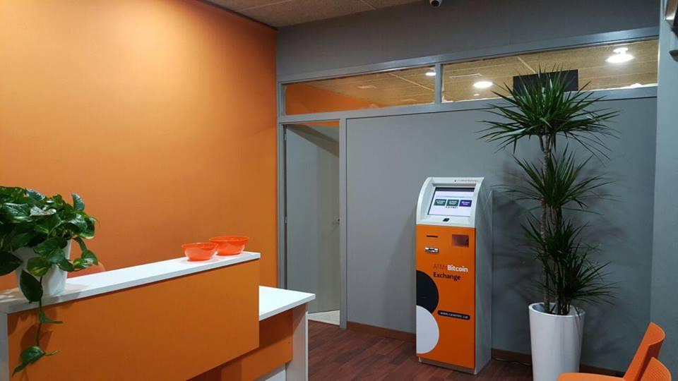 Bitcoin ATM Cajero automatico_Pagos Espana Mercados