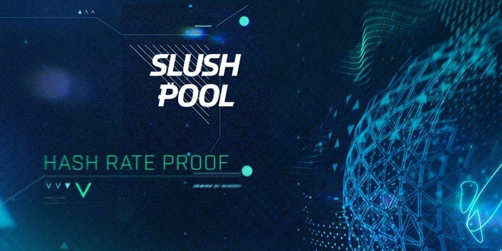 Slush Pool Transparencia Grupos Minería Hash Rate Procesamiento Bitcoin