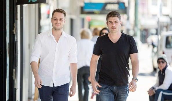Rupert Hackett y Kain Warwick