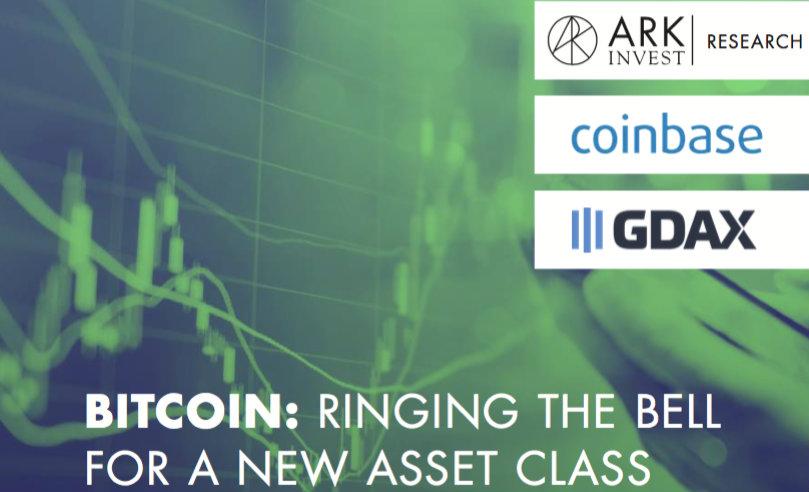 Bitcoin ARK Coinbase Investigacion Criptomonedas