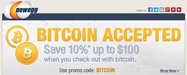 Bitcoin Newegg Promocion