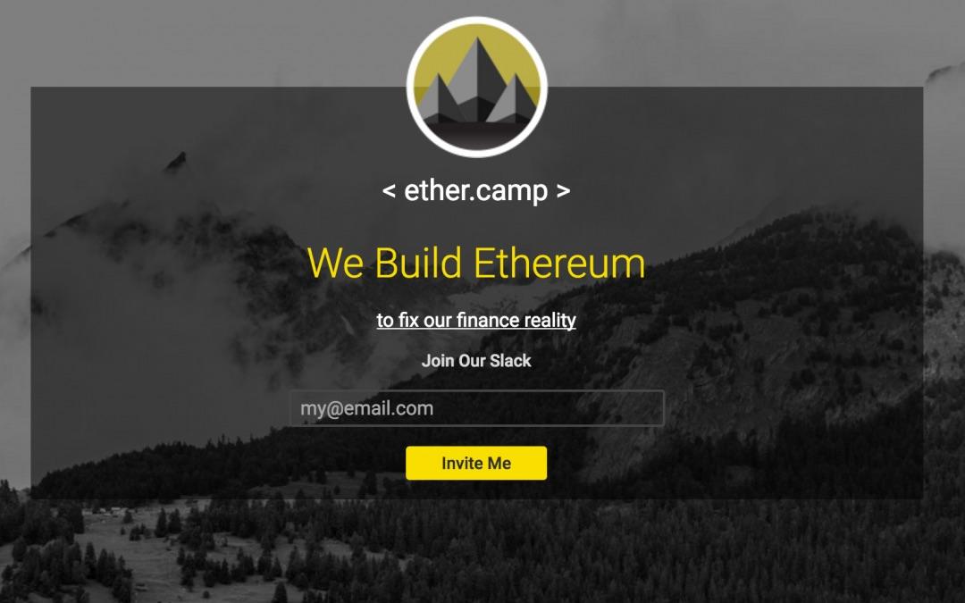 Ethercamp Blockchain Concurso Aplicación Ethereum