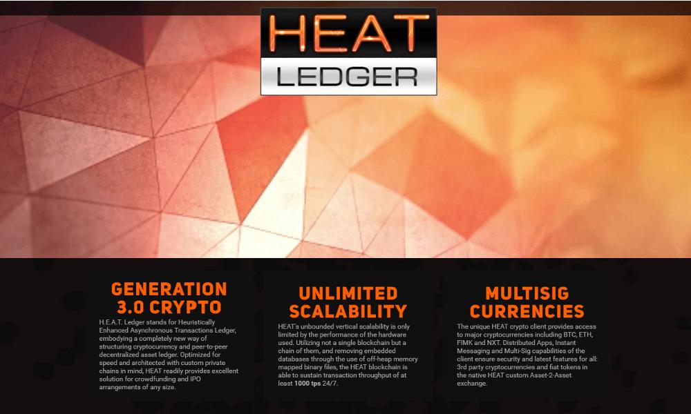 Heat Ledger OpenLedger Plataforma Blockchain ICO