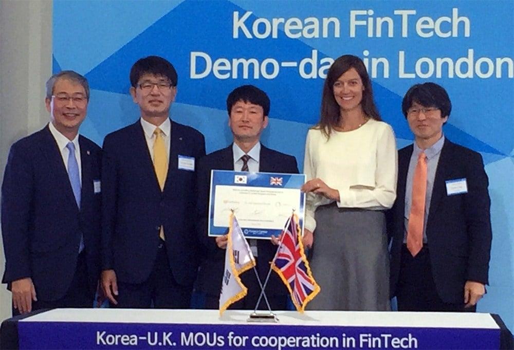 KB Kookmin Banco Corea Circle Fintech