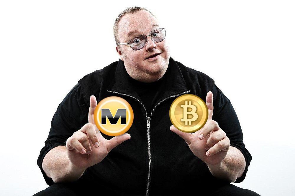 Kim Dotcom Megaupload Bitcoin