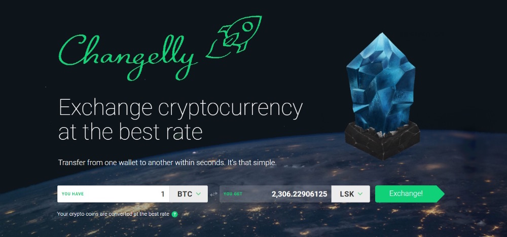 Changelly Lisk Bitcoin Ethereum