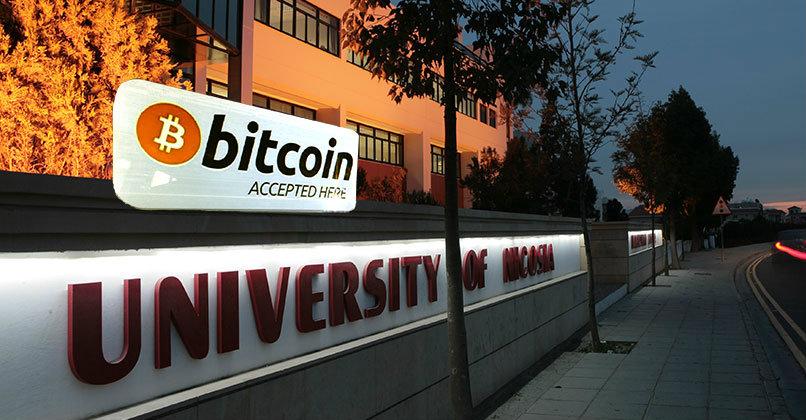 Universidad de Nicosia Bitcoin Promocion Graduandos Academico Europa Criptomonedas
