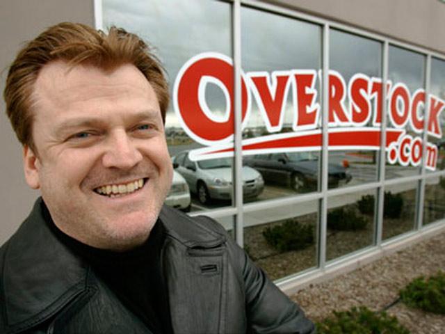 Patrick Byrne, CEO de Overstock