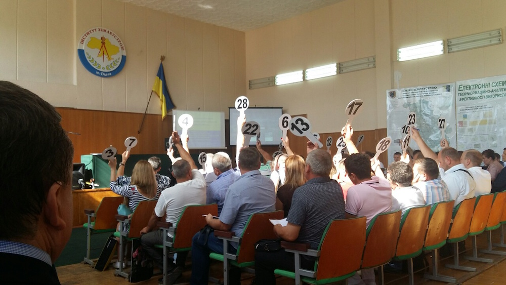 Ukrania Sistema Blockchain Registro