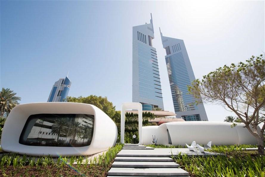 Dubai impresión 3D Tecnología blockchain