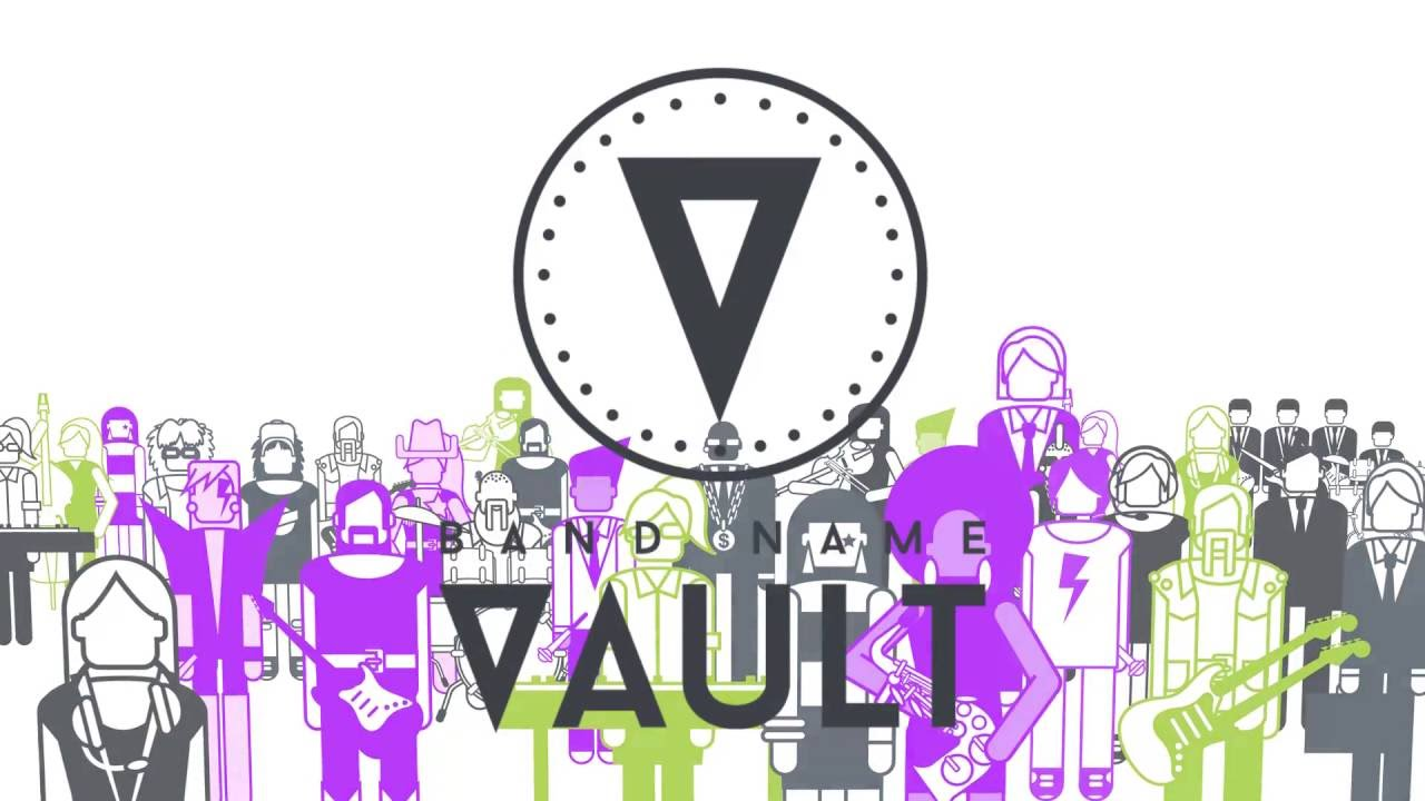 derechos autor musica blockchain band name vault
