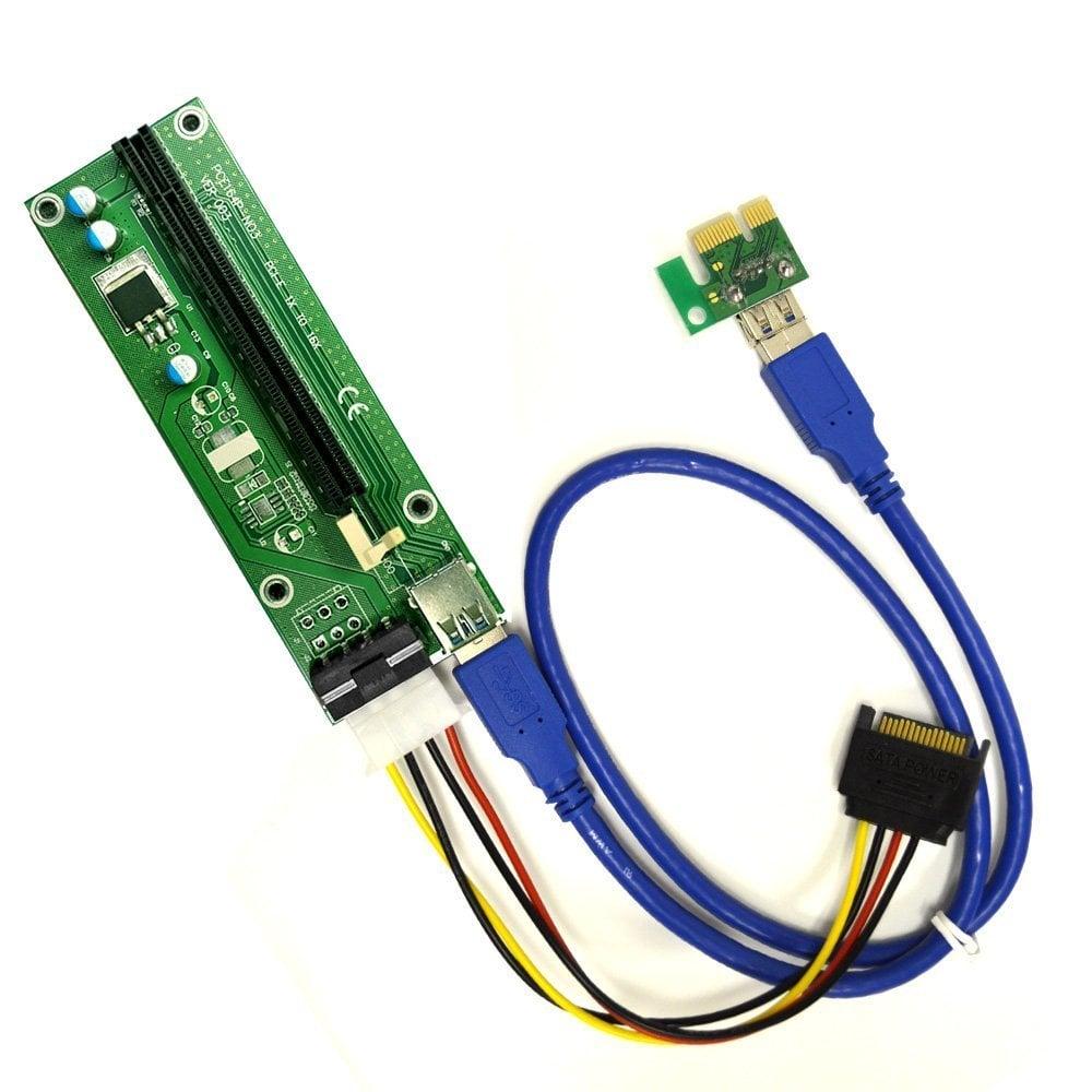 Cable Elevador Riser USB Mineria Criptomonedas