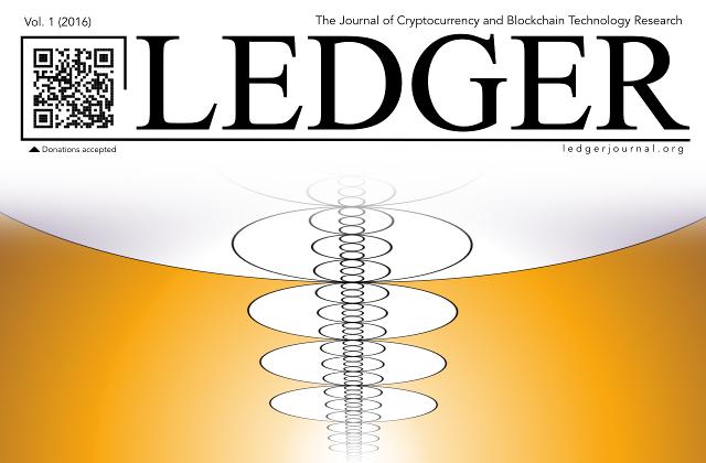 Ledger Bitcoin Blockchain Revista Academica