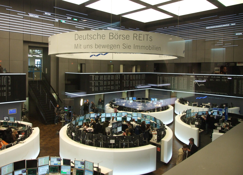 deutsche borse bolsa valores alemania blockchain moneda digital collco