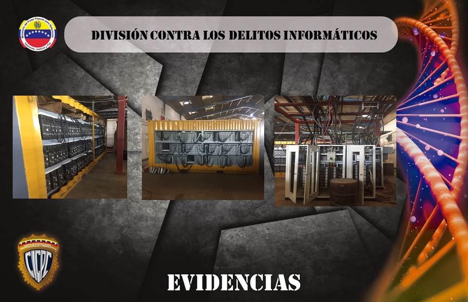 Caracas Bitcoin Fraude Electricidad
