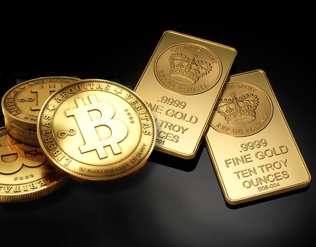 bitcoin supero oro china mercado