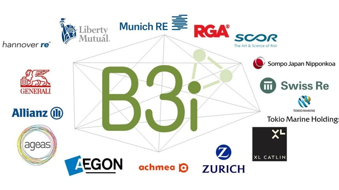 allianz, b3i, seguros, consorcio, blockchain