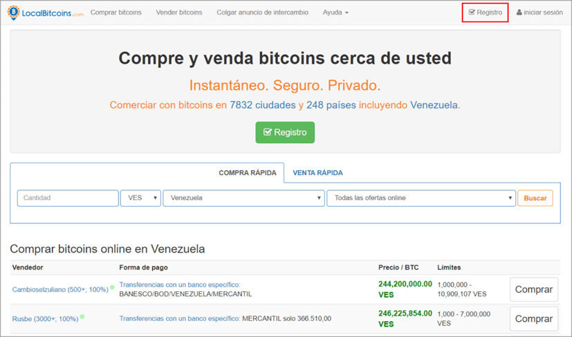 localbitcoins net oficial în cazul în care puteți câștiga bani reali