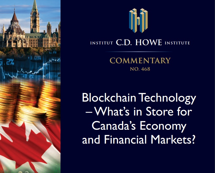canadá, fintech, blockchain, bitcoin, estudio, think tank