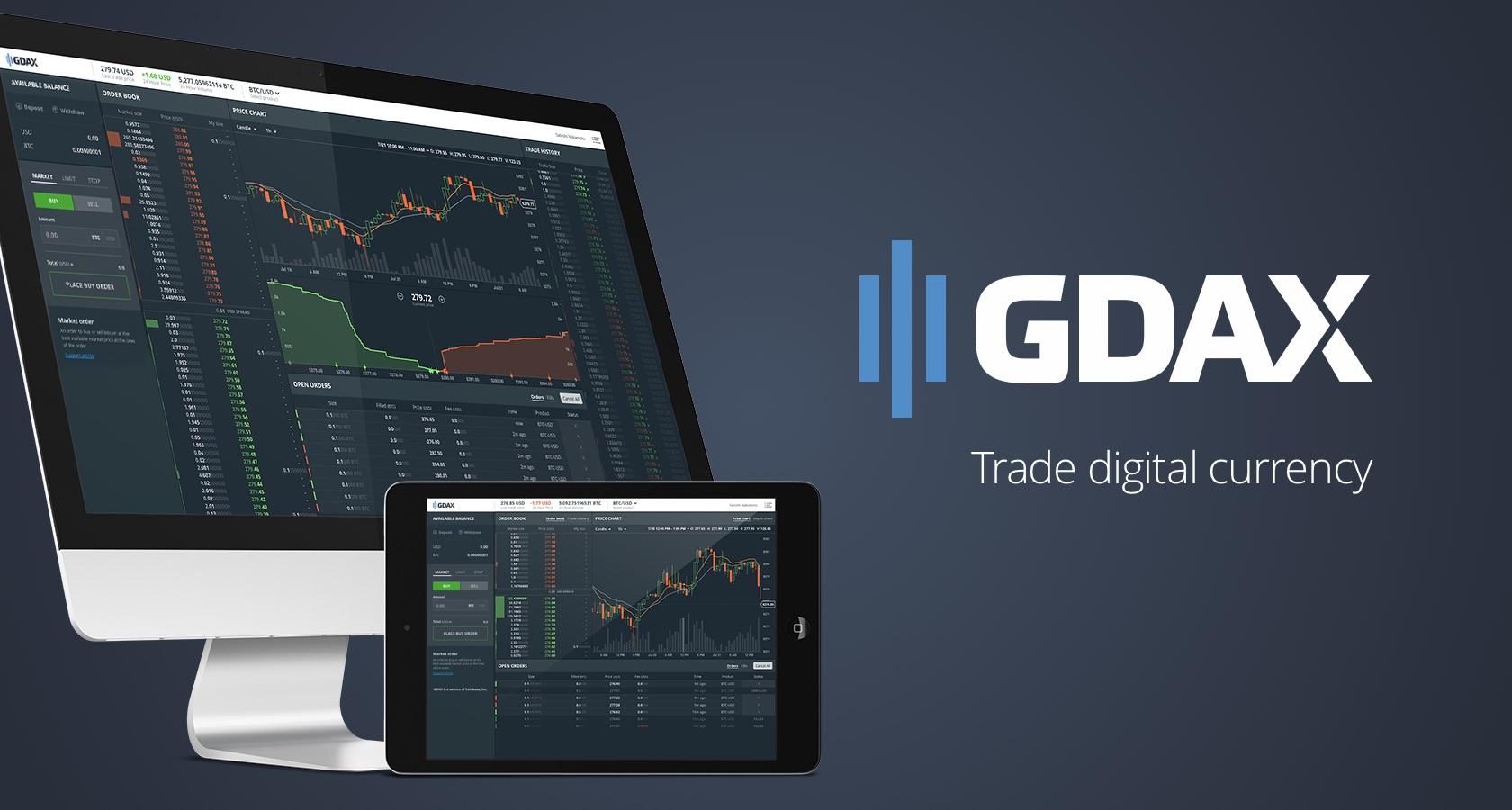 bitcoin, ethereum, litecoin, gdax, coinbase, casa de cambio, plataforma de cambio, margen de comercio, estados unidos, criptomonedas