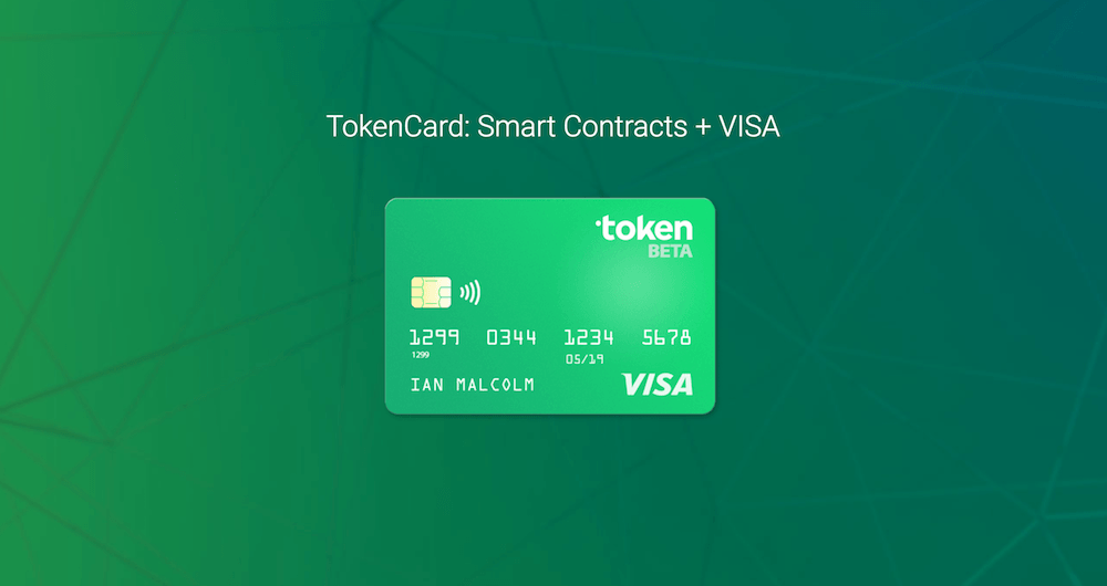 tokencard, monolith studio, token, visa, ico, token